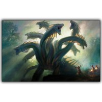 Magic The Gathering Game Art Silk Poster Print 30x48cm 60x96cm Game Wall Pictures for Living Room Decor