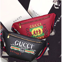GG Waist Bag Belt Bag Fashion Women Leather Print Single-Shoulder Bag Crossbody