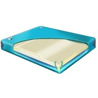 90% Waveless Waterbed Mattress with Contour Lumbar For California King Hardside Water beds InnoMax