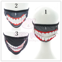 [Tokyo Ghoul 東京喰種] Cosplay Scary Dust Mask SP152116