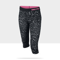 Check it out. I found this Nike Pro Printed Girls' Capris at Nike online.