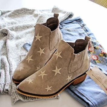 Starry Night Suede Boots