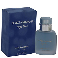 Light Blue Eau Intense by Dolce & Gabbana Eau De Parfum Spray 1.7 oz for Men