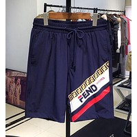FENDI Men Sports Running Shorts