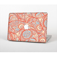 The Coral Abstract Pattern V34 Skin Set for the Apple MacBook Pro 15""