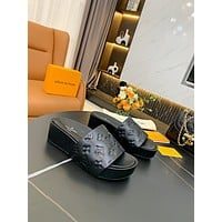 Louis Vuitton LV Women's  Sneakers Slipper Sandals High Heels Shoes 0411