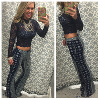 Blast From the Past Palazzo Pants