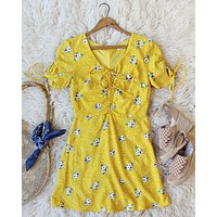 Emory Dress in Yellow
