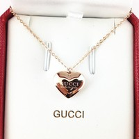 GUCCI Jewelry Jewelry Pendant Pendant Love Pendant Necklace F-HLYS-SP