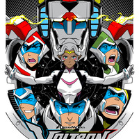 """""""Ready to Form Voltron"""" by Joshua Budich"""