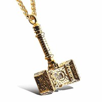 Stainless Steel Titanium Jewelry Men Strong Character Accessory Pendant [10783256003]