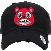 Angry Baws Black Dad Hat