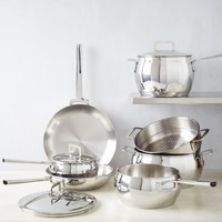 Essential Stainless Steel Cookware - 10-Piece Set