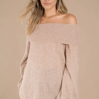 Betty Off Shoulder Sweater
