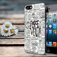 Pierce The Veil Song Lyric iPhone 4/4S Case, iPhone /5/5S/5C Case, iPod Touch 4/5 Case, Samsung Galaxy S3/S4 Case
