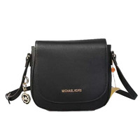 Michael Kors Bedford Leather Small Black Crossbody Bags Sale With 60% Off!