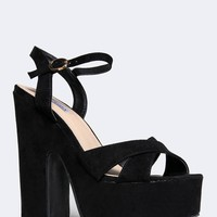 ANKLE STRAP CHUNKY SANDAL