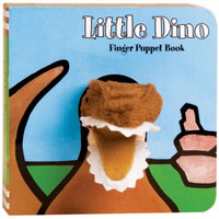 LITTLE DINO FINGER PUPPET BOOK