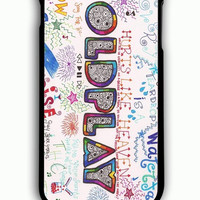 iPhone 6 Plus Case - Rubber (TPU) Cover with Coldplay Fan Art Rubber Case Design