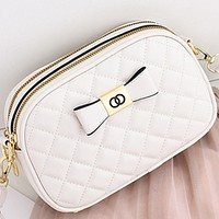 New style all-match texture fashion one-shoulder rhombus popular messenger bag