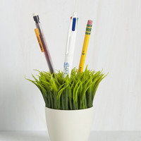 Quirky Ideas in Bloom Desk Organizer by Kikkerland from ModCloth