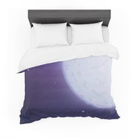 """Fotios Pavlopoulos """"Full Moon"""" Night Sky Featherweight Duvet Cover"""