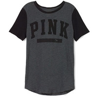 Perfect Legging Tee - PINK - Victoria's Secret