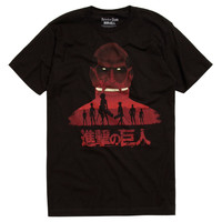 Attack On Titan Scout Silhouettes T-Shirt
