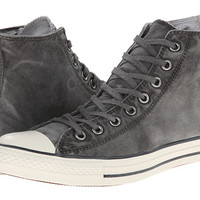 Converse Chuck Taylor® All Star® White Wash Hi Black/Black/Egret - Zappos.com Free Shipping BOTH Ways