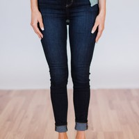 Sneak Peek Jeans- Kimberly Wash