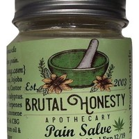 CBD Hemp Pain Salve Organic 4oz & 2.5oz
