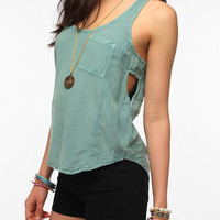 Urban Outfitters - Silence & Noise Acid-Washed Tank Top