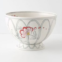 Peony Portrait Serving Bowl by Molly Hatch Multi One Size Serveware