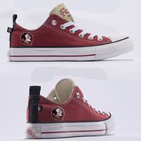 Florida State Seminoles Official NCAA  Skicks Unisex Low Top Sneakers