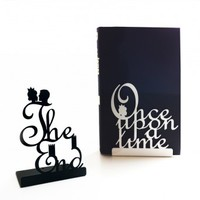 Pair of Fairy Tale Bookends from heather alstead design | Made By Designed by Heather Alstead | £25.00 | BOUF