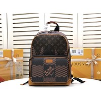 LV Louis Vuitton X NIGO MONOGRAM CANVAS Soft Trunk BACKPACK BAG