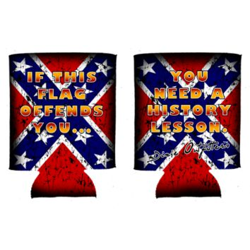 If This Flag Offends You Can Koozie By Dixie Outfitters®