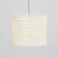 Crochet Knit Shade - White One