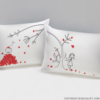 Love You Madly™ Couple Pillowcases