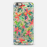 Tropical Floral in Watercolor on Transparent II iPhone 6 case by Micklyn Le Feuvre   Casetify