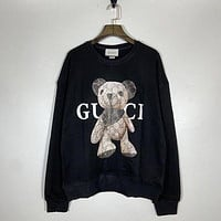 GG Women Fashion Hooded Top Pullover Sweatshirt Hoodie