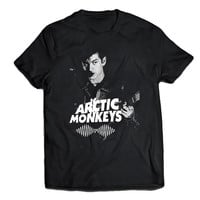 arctic monkeys shirt band logo t-shirt women and men