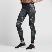 The Nike Pro Warm Women's Printed Training Tights.