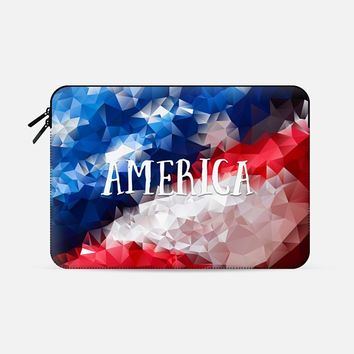 "America (sleeve) Macbook Pro Retina 15"" sleeve by Noonday Design 