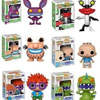 Funko pop Real Monsters:13047.48.51.56.57.13981 Set of 6