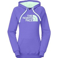 The North Face Half Dome Hoodie Womens Starry Purple/Surf Green M