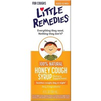 Little Remedies Honey Cough Syrup 4 oz (Pack of 2) - Walmart.com