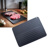 1pcs Fast Defrost Tray Fast Thaw Frozen Food Meat Fruit Quick Defrosting Plate Board Defrost Tray Thaw Master Kitchen Gadgets