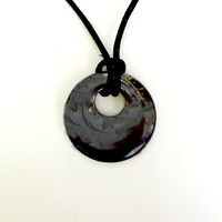 Hematite Pendant Necklace