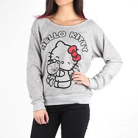 Hello Kitty Off Shoulder Sweater